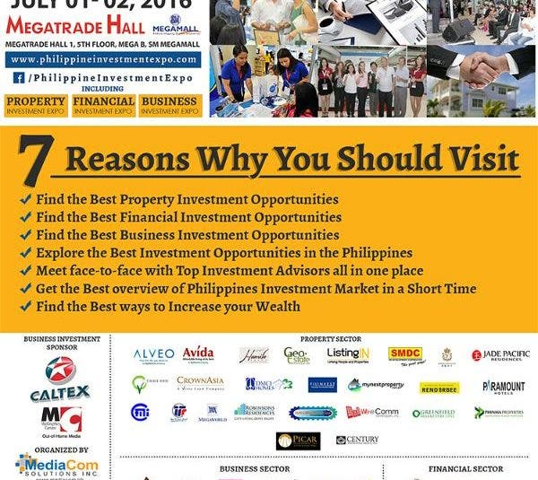 Know the Best Investment Opportunities at the 3rd Philippine Investment Expo