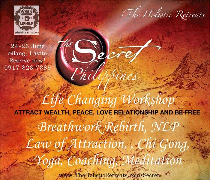 "Learn the Magic Behind ""The Secret"": Join The Holistic Retreats Law of Attraction"