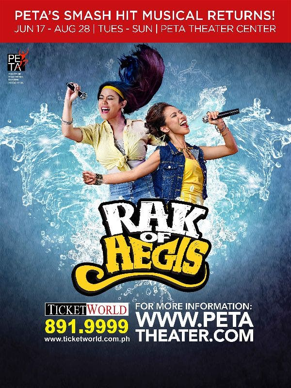 """Rak of Aegis"" is Back! Catch the Hit Filipino Musical This July Till August"