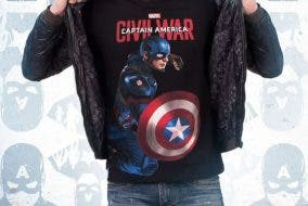 Team Cap Civil War Disney Marvel Superheroes Shirt Captain America
