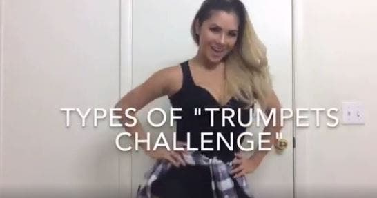 WATCH Petra Mahalimuyak Shows Us the Different Ways You Can Do the Trumpets Challenge