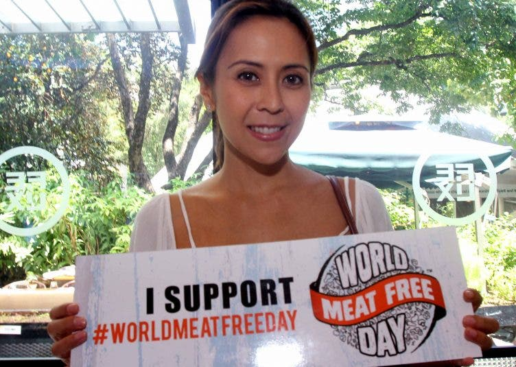World Meat Free Day Give up One Meat Meal and Help the Fight against Climate Change