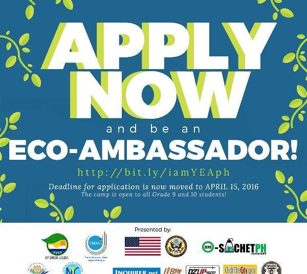 Young Eco Ambassadors: Catalyst, An Environmental Camp