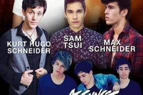 YouTube Favorites in Manila: Leroy Sanchez, Max Shneider, Sam Tsui, Hurt Hugo Schneider, & At Sunset!