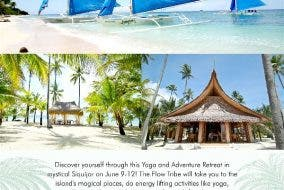 Joing a Yoga and Adventure Retreat in Mystical Siquijor this June Flow Retreats Flow Surf Yoga Samba