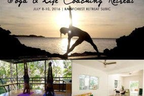 """Yoga & Life Coaching Retreat"" in Subic this July Flow Retreats Flow Surf Yoga Samba"