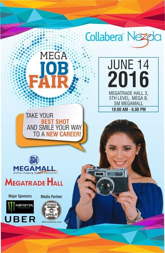 Your Future Starts Here: Apply and Get Hired at the MEGA Job Fair on June 14th!