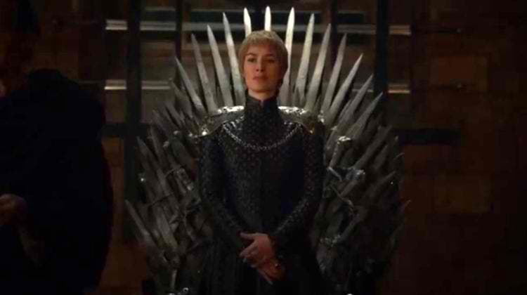 dress Cersei Iron Throne