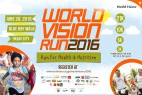 World Vision Run 2016: Run for the Future of Filipino Children