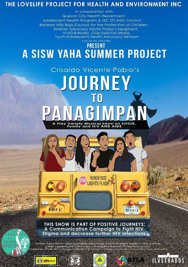 "Adolescents Do HIV Awareness with ""Journey TO Panagimpan"""
