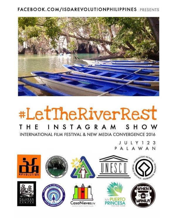 Let The River Rest: Int'l Film Festival & New Media Convergence 2016 in Palawan