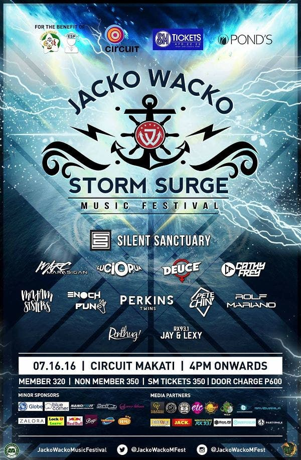 Jacko Wacko Music Festival: Embrace the Music and Rave All Night on July 16 @ Circuit Makati