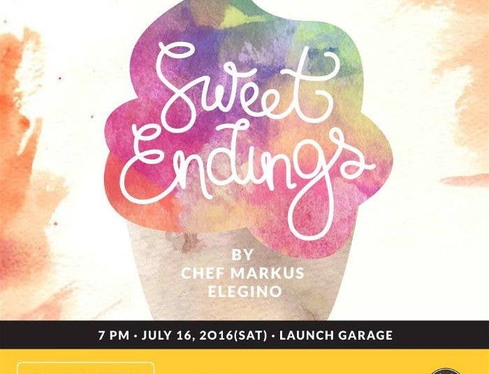 "Plato PH Celebrates its Newest Chef, Markus Elegino, with ""Sweet Endings"""