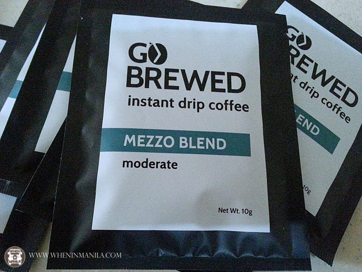GoBrewed Instant Drip Coffee