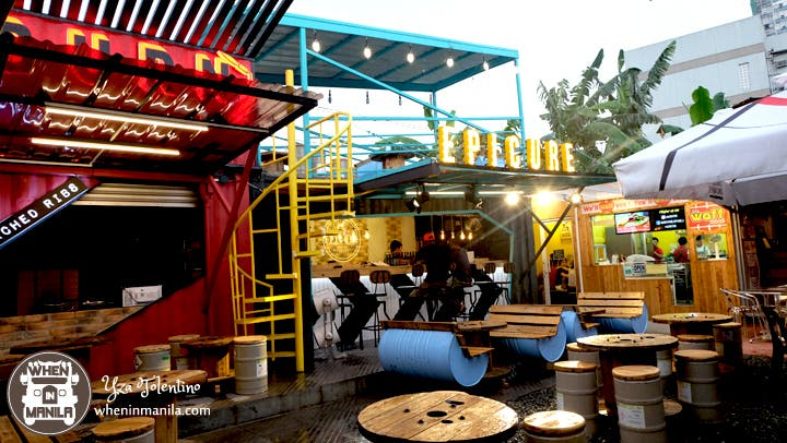 A Foodie Guide On QC's Newest Food Park - The Yard 2