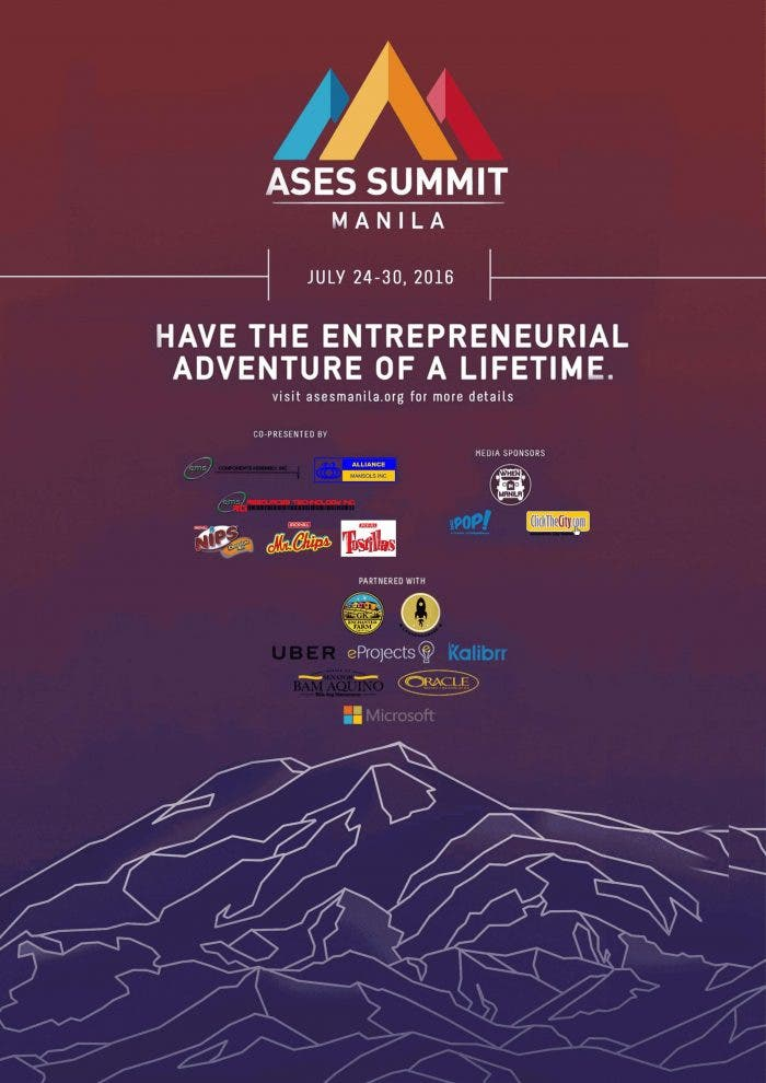 ASES Summit Manila 2016 POSTER