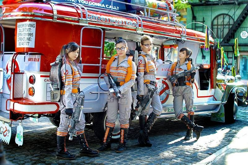 Alodia Ghostbusters