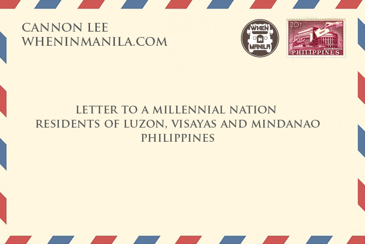 Cannon Lee - A Letter To A Millenial Nation - Final Thought