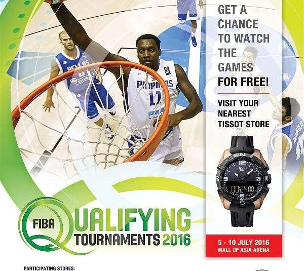 FIBA Olympic Qualifying Games: Gilas Pilipinas and Tissot as the Official FIBA Timekeeper