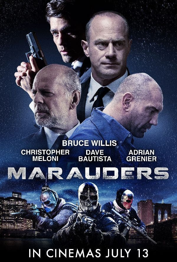 """Bruce Willis is Back in Action in """"Marauders"""" — Showing July 13th! OctoArts Films"""