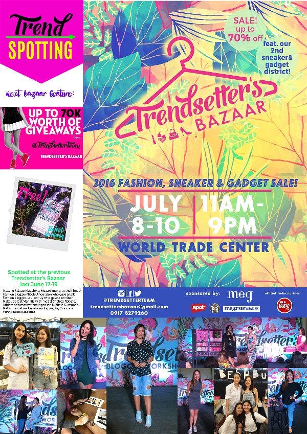 Trendsetter's 3-day Mid Year Bazaar: Kylie Lip Kit, Limited Edition Adidas, and More