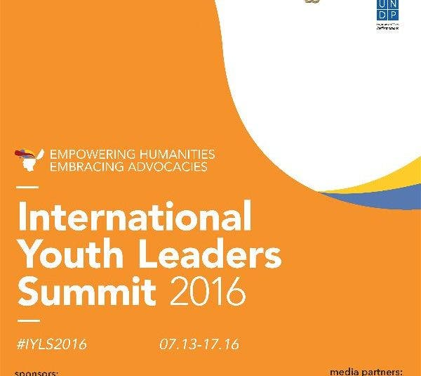 Humanities and Advocacies: Take Part at the International Youth Leadership Summit 2016