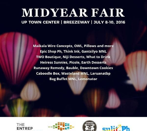 Catch the Midyear Fair Bazaars on 3 Weekends This July @ UP Town Center