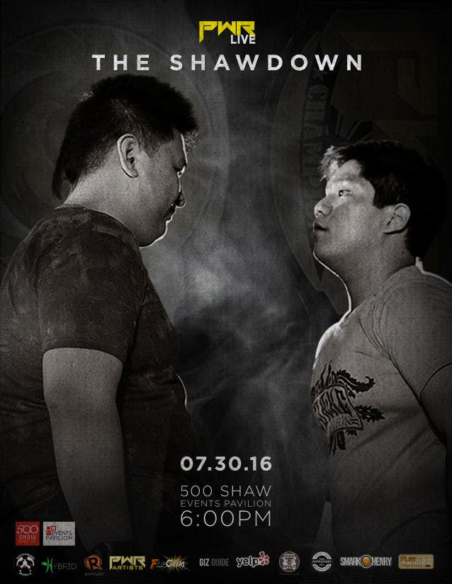 PWR-The-Shawdown-When-in-manila-Cover-Poster