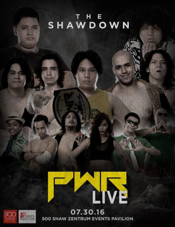 PWR-The-Shawdown-When-in-manila-Poster