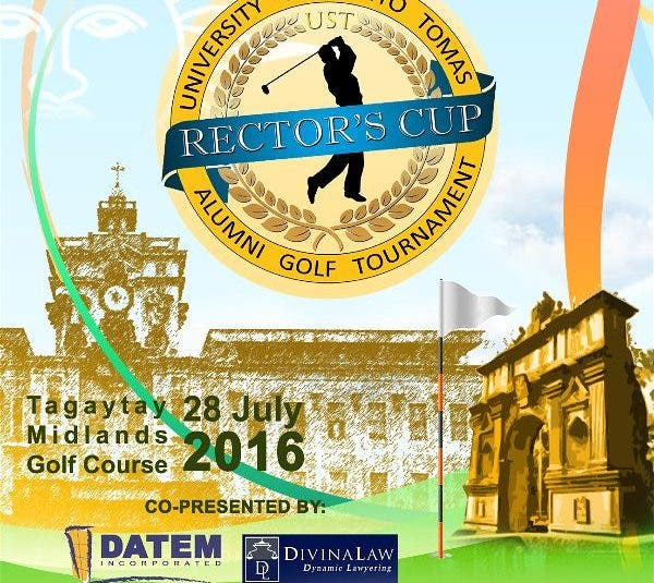 Rector's Cup Golf Tournament: A Fund Raising for Thomasian Athletes for UAAP Season 79