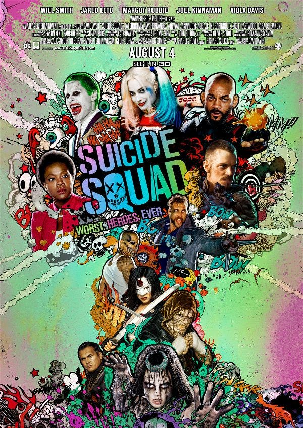 """Suicide Squad"" Block Screening at Resorts World Manila on Aug 4 + Watch the Trailer Here!"