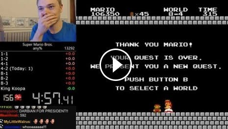 Super Mario World Record Darbian