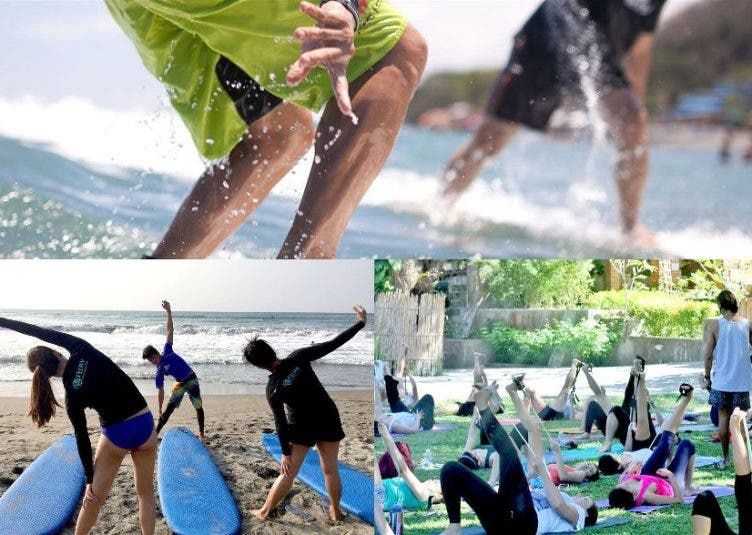 Join a Surf Fitness Retreat on Oct 21-23 @ San Juan, La Union with Flow Retreats Flow Surf Yoga Samba