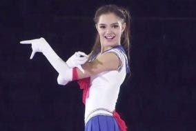 Evgenia Medvedeva Figure Skater Rocks Sailor Moon Routine