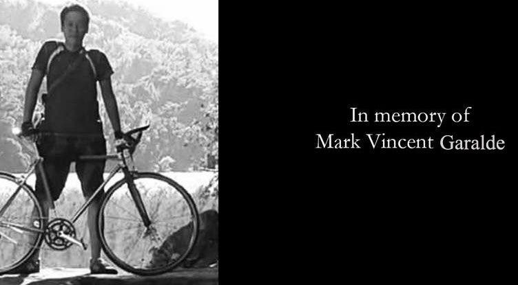 mark vincent garalde bike memorial