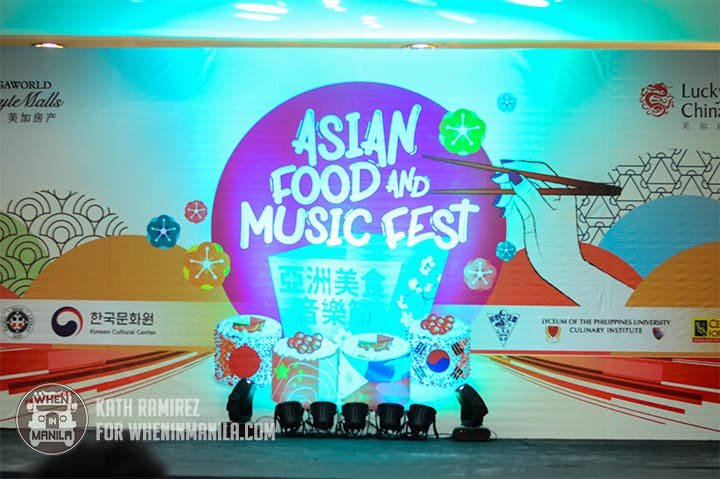 asian food and music fest