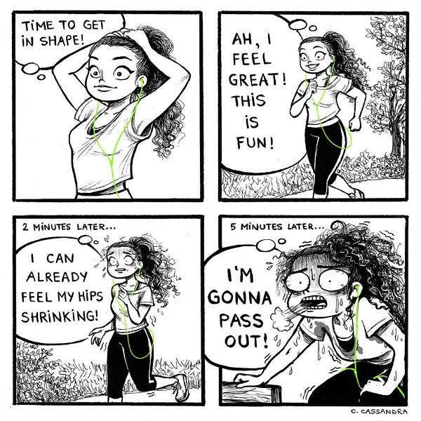 Funny Drawings Perfectly Capture Girls' Everyday Struggles