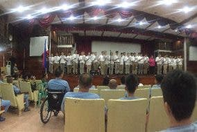 Students Conduct a Musical for Injured Comrades at Armed Forces of the Philippines Medical Center