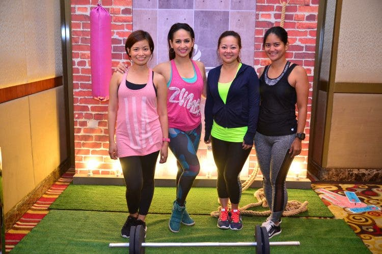 Scene Stealer Marketing Communications managing director Vannah Santiago, celebrity mom Regine Tolentino, Jeunesse Anion dietitian-nutritionist consultant Cheshire Que, and tri-athlete Aimee Lagman