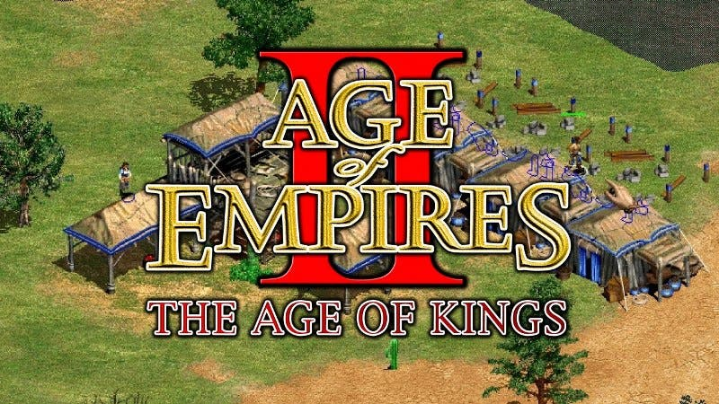 Age of Empires II pc games 2000s