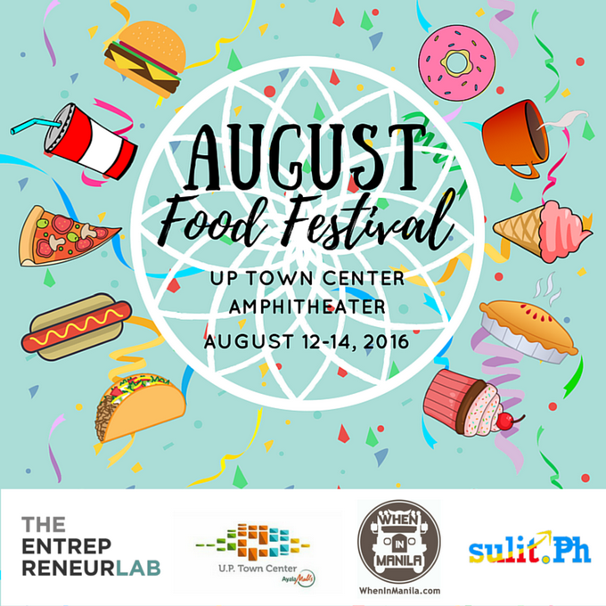 August Food Festival (with sponsors)