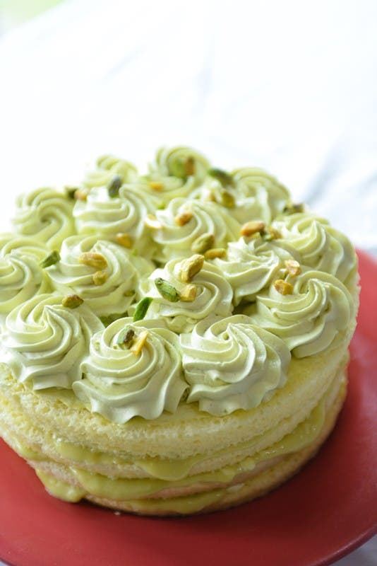Avocado sponge cake by Chef Rhea Sycip