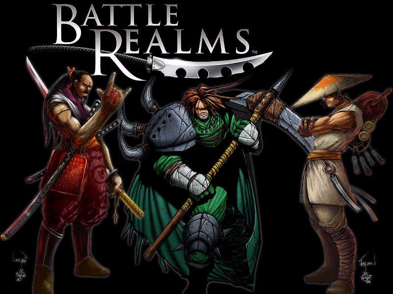Battle Realms pc games 2000s
