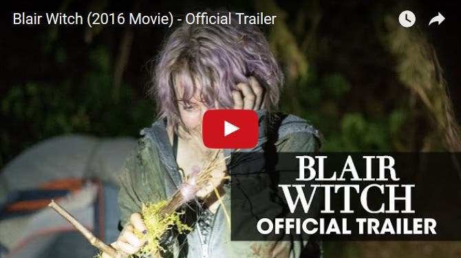 "Horror Film ""Blair Witch"" is Back, and Here is the Trailer"