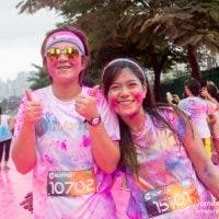 Color Manila's Triple Threat: Color, Glitter and Costume Run