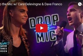 FUNNY: Intense Rap Battle Between James Corden, Dave Franco, and Cara Delevingne