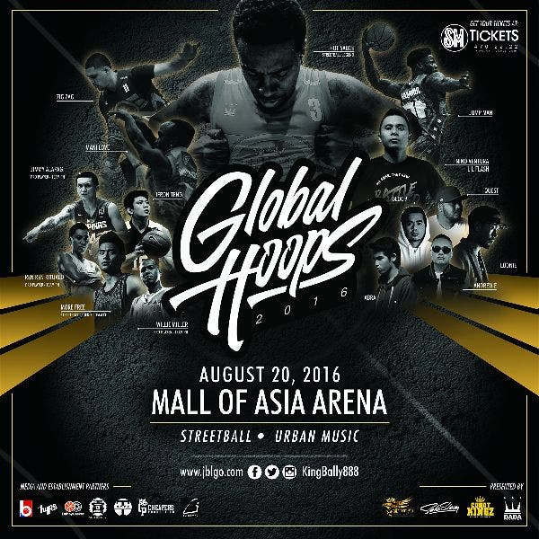 TICKET GIVEAWAY: Catch Global Hoops 2016, A Streetball Event with Teams USA, China, and Philippines!