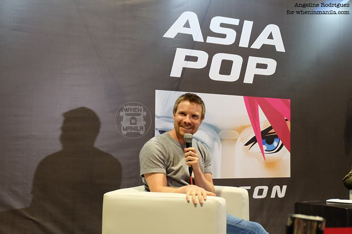 Joe Dempsie AsiaPOP Comic Con