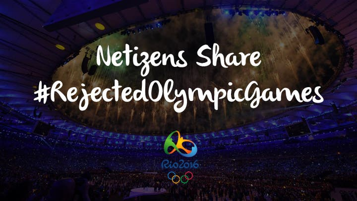 LOOK Netizens Share Hilarious #RejectedOlympicGames