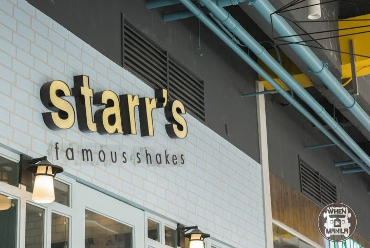 Starr's Famous Milkshakes Opens at UP Town Center!5